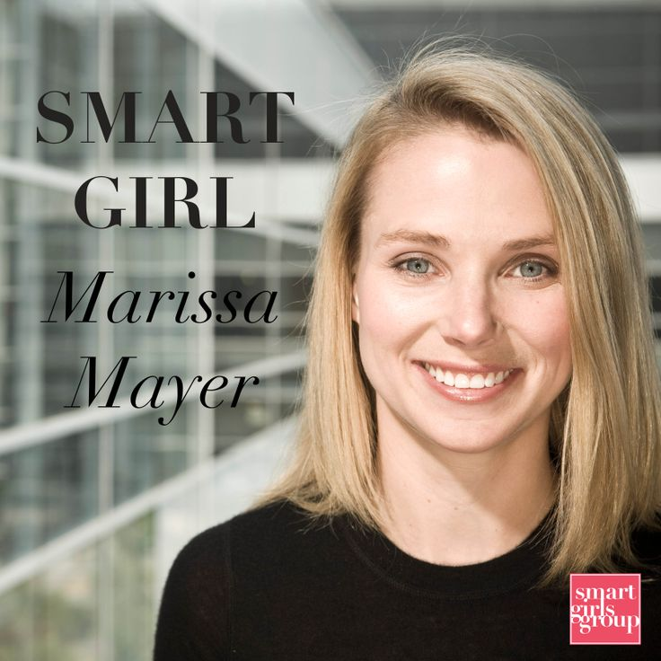 Marrissa Mayer #SmartGirl | For Work | Pinterest