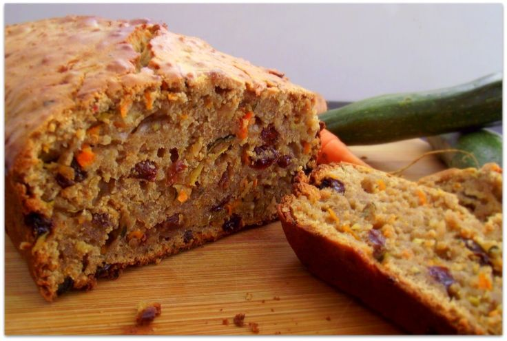 Carrot & Zucchini Quinoa Bread - Just made (sans quinoa this time) and ...