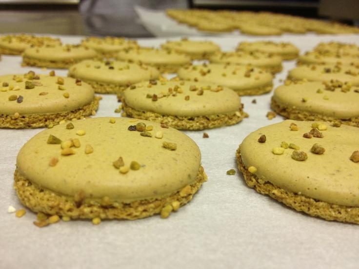Pistachio Macarons   Sweet