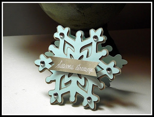 ... Greetings Snowflake Gift Tag... | WRAP IT UP-Christmas | Pint