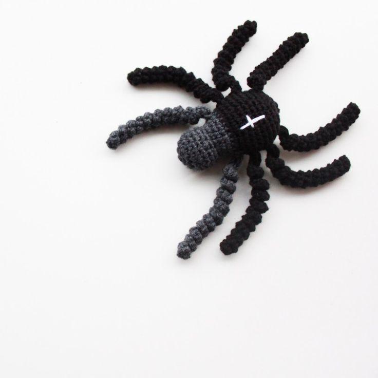 Amigurumi spider Crochet Pinterest