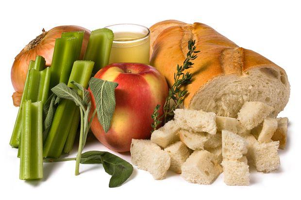 Basic Apple and Sage Stuffing | Thanksgiving | Pinterest