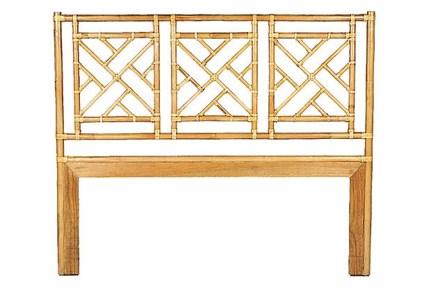 Chinese Chippendale Bed : Chinese Chippendale Headboard, Twin