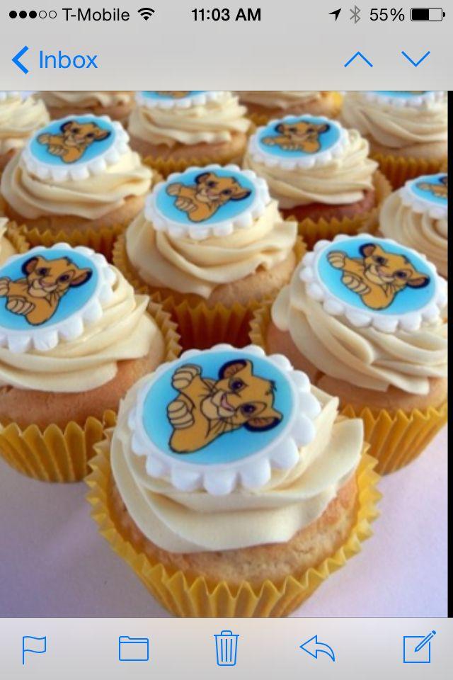 Simba cupcakes