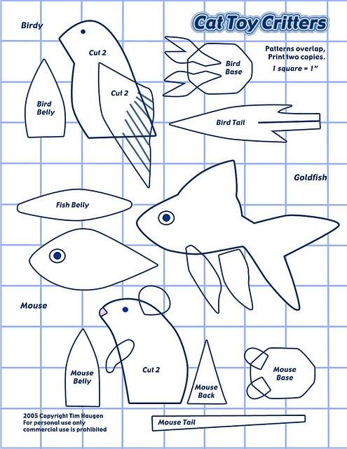 Золотая рыбка своими руками выкройки