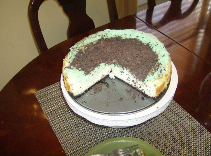 Chocolate Irish Cream Cheesecake | Food | Pinterest