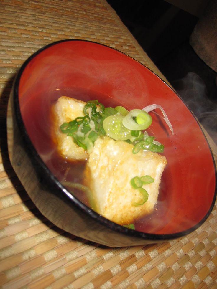 Agedashi Tofu | Food | Pinterest