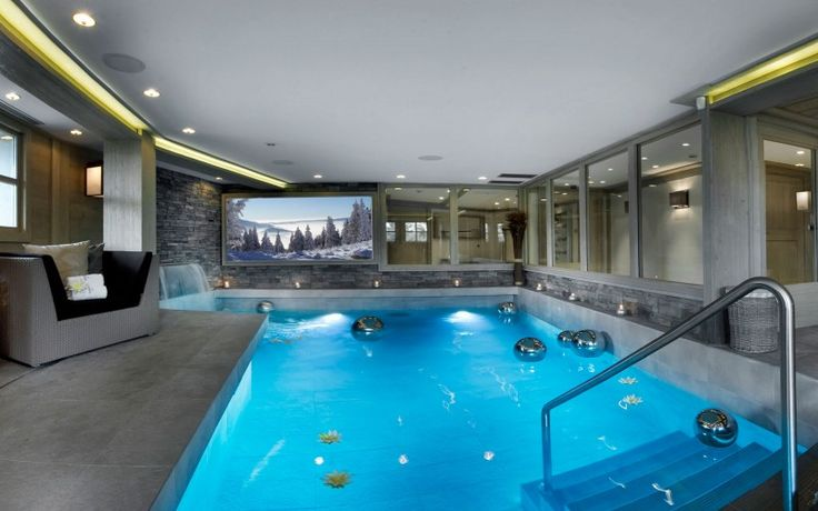 Pin by claffisica design on pool design pinterest - Cool rooms with pools ...