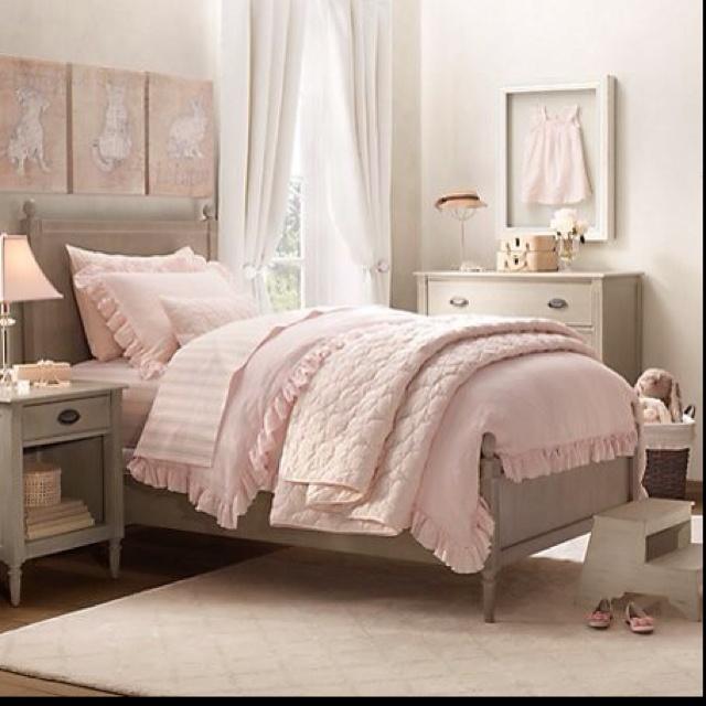 Restoration Hardware Girl Bedrooms Pinterest