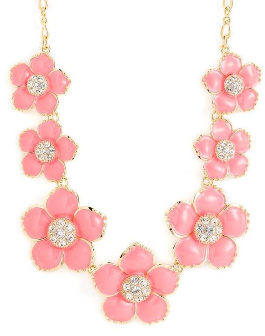 Kate Spade Enamel Garden Necklace