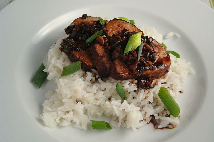 Slow Cooker Teriyaki Pork Tenderloin - This sweet and sour recipe for ...