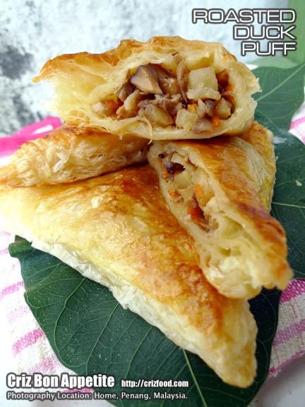 ROASTED DUCK PUFF-Criz Bon Appetite | Yum Yums | Pinterest