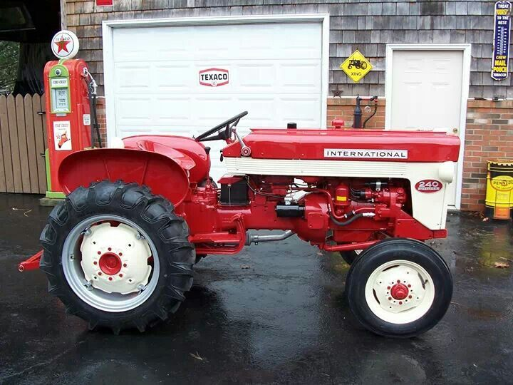 International 240 Utility Tractor : Old farmall tractors bing images