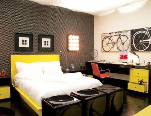 decoracao de interiores quartos de solteiro : decoracao de interiores quartos de solteiro:Que Color Pintar MI Cuarto
