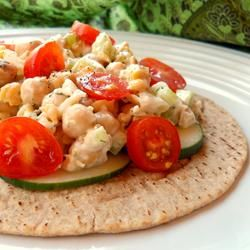 Vegetarian Chickpea Sandwich Filling | Healthy Recipes | Pinterest