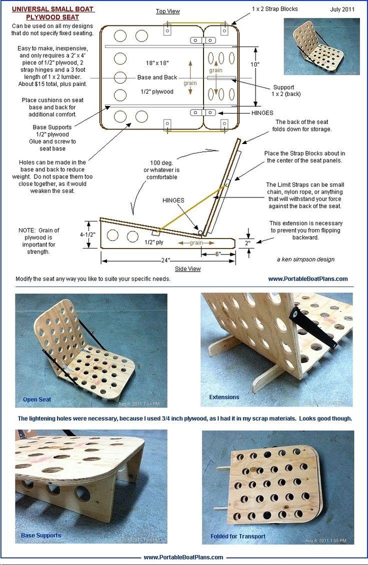 Free fishing boat plans plywood | David Chan