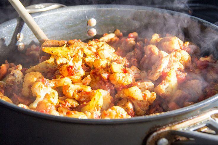 Easy Indian: Skinny Chicken Tikka Masala   Recipe