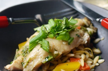 Ginger and Cilantro Baked Tilapia Recipes