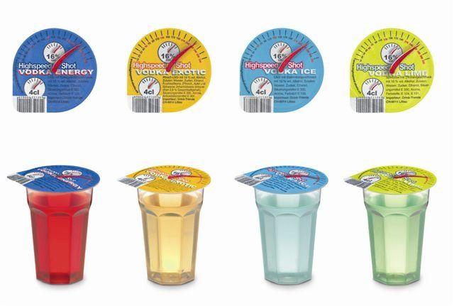 Vodka Shots | Drinks and Appetizers | Pinterest