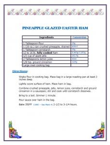 Pineapple Glazed Easter Ham | Easter | Pinterest