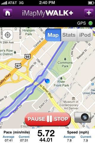 best walk gps app for iphone