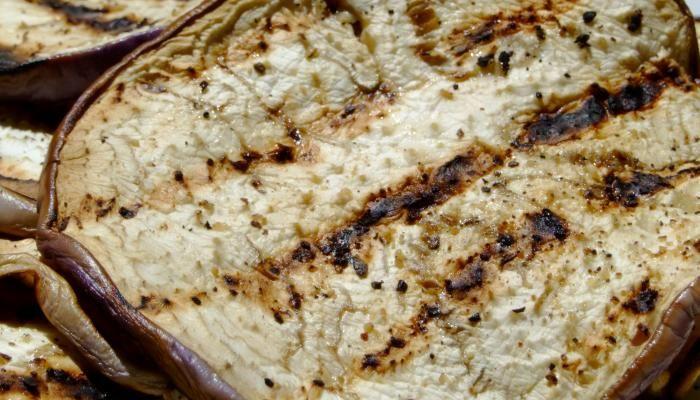 grilled eggplant creamed feta i like the idea of creamed feta would ...