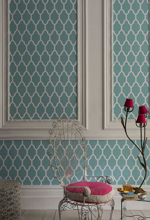 Wallpaper by Farrow and ball   Color & pattern   Pinterest