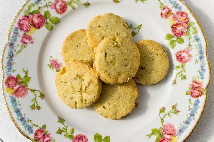 Lemon Verbena and Pineapple Cocktail Cookies | Recipe