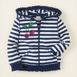 striped zip-up hoodie $19.95 | Cute 4 Kids | Pinterest
