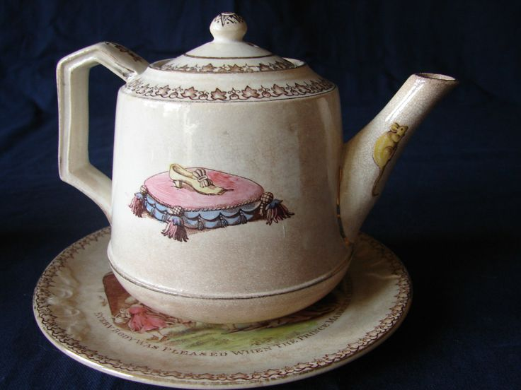 Pin by t g green museum on cinderella pinterest Green tea pot set
