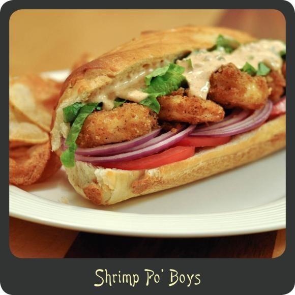 Shrimp Po' Boy Recipe — Dishmaps