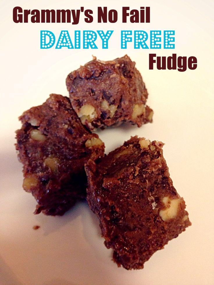 Grammy's No Fail Dairy Free Fudge | coffee addiction | Pinterest