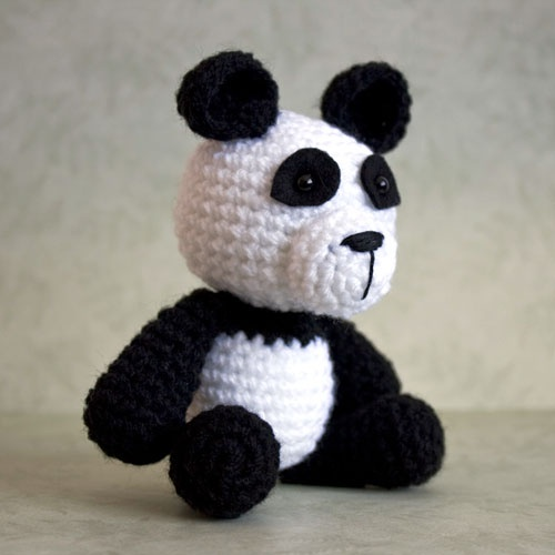 Amigurumi Bigfoot Panda : Amigurumi Panda Yarn Pinterest