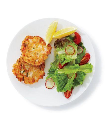 Crispy Shrimp Cakes A little horseradish in the shrimp mixture adds an ...
