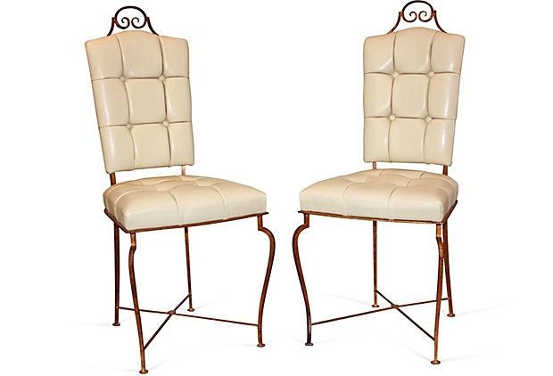 1940s Rare Chairs Pair Furniture I love