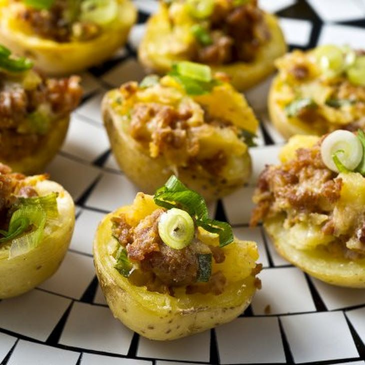 Chorizo Potato Bites Recipe | Food ( • u •) | Pinterest