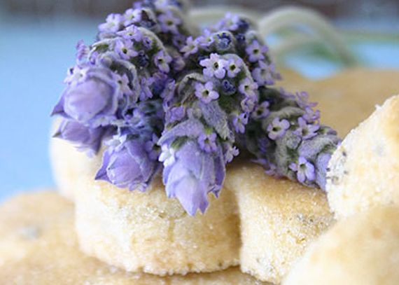 Lavender shortbread cookies | Sweets Recipes to Try | Pinterest