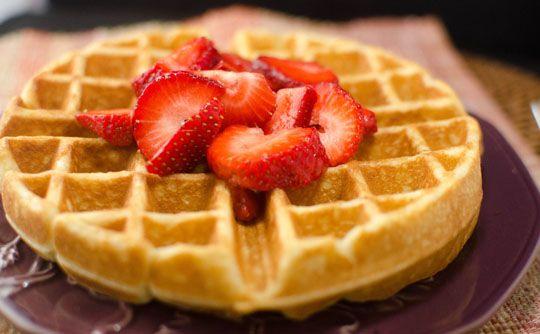 Cinnamon Belgian Waffles | Heart Mind & Seoul