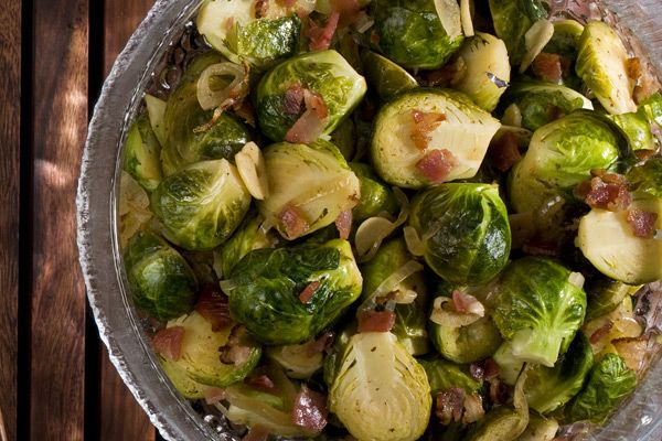 Braised Brussels Sprouts - tried these with my post Thanksgiving crowd ...
