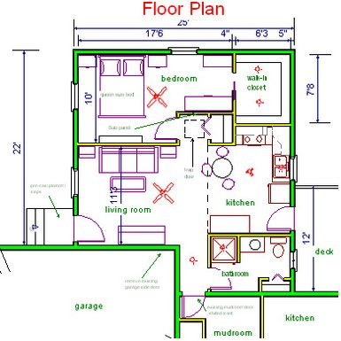 In law suite floor plan idea floor plans pinterest for Floor plans for in law suite addition