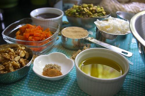 Apricot Pistachio Granola | FTLOF: breakfast | Pinterest
