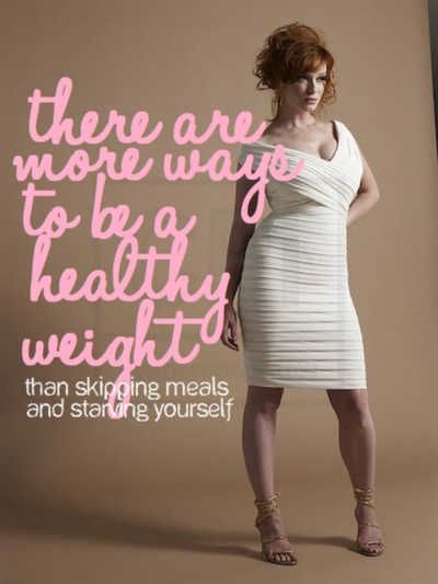 exactly! if you want to lose weight/be a healthy weight then do it the right way.