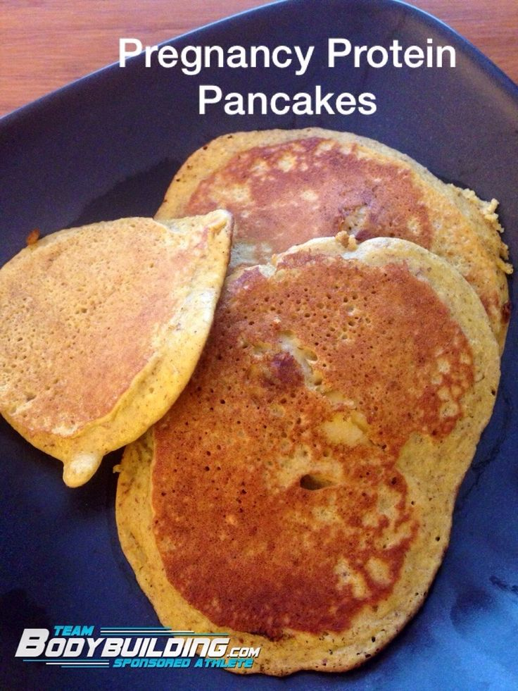 ... Moneer shares her Pregnancy Protein Pancakes Recipe on our Community