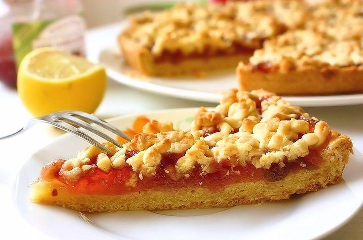 Пирог из яблочного варенья рецепт с фото в мультиварке