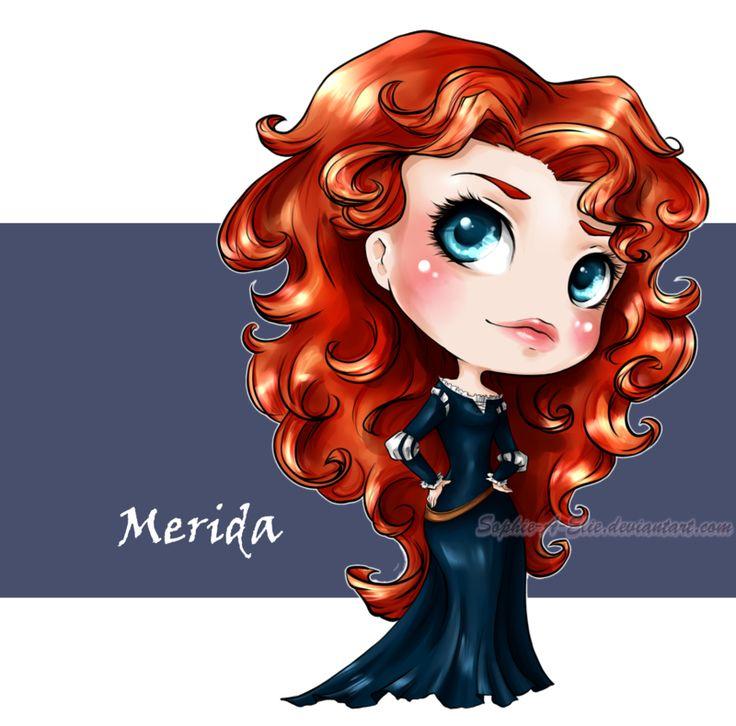 how to say brave merida