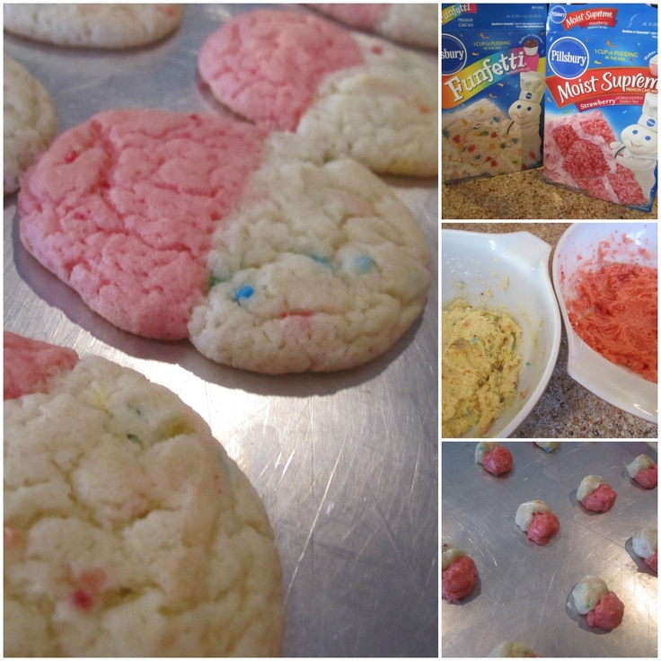 Cake Mix Cookies | desserts & sweets | Pinterest