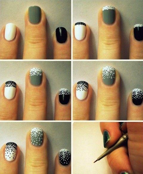 new years eve nail art design