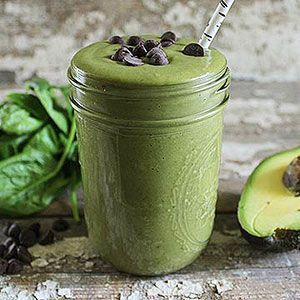 Mint Chocolate Chip Green Smoothie | Drinks (Non-Alcoholic) | Pintere ...