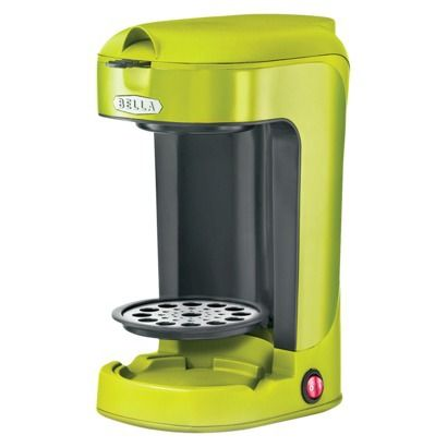 Bella Single Serve Coffee Maker K Cup : Bella Single Serve Coffee Maker - Purple