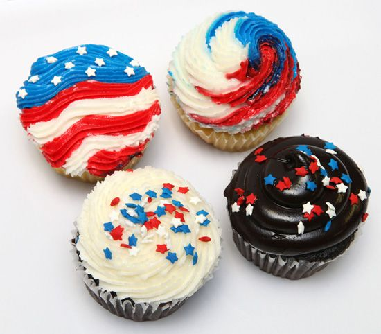 4th of july cupcake recipes from scratch